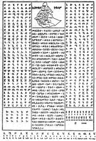 Amharic Alphabet 1917 E.C. @Amharic4Rastafari